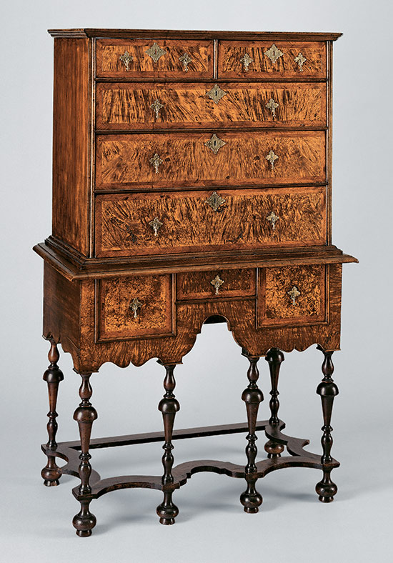 william and mary style keyword heilbrunn timeline of art  high chest of drawers