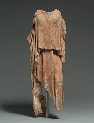 Terracotta figure of a woman