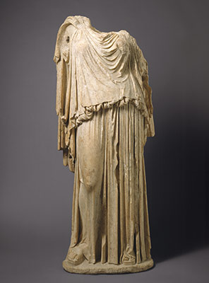 Statue of Eirene (personification of peace)