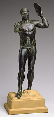 Bronze diskos thrower