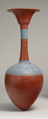 Water bottle from Tutankhamuns embalming cache