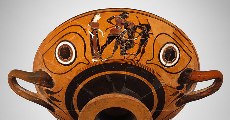 Theseus Hero Of Athens  Essay  Heilbrunn Timeline Of Art History  Terracotta Kylix Eyecup Drinking Cup Research Essay Proposal also Family Business Essay  High School Years Essay