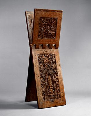 Stand for a Quran manuscript