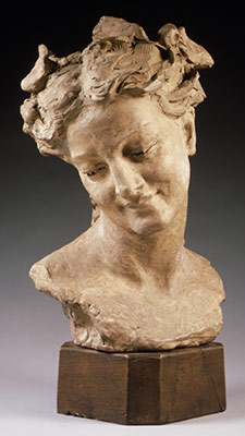 Bacchante with Lowered Eyes