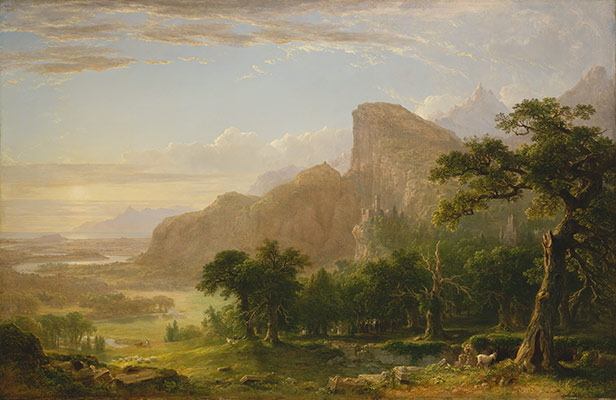 Landscape—Scene from Thanatopsis