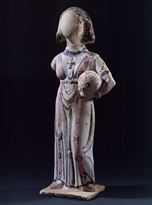 Woman Wearing a Tunic