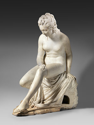 Bather (statue from a fountain group)