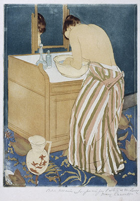 Woman Bathing (La Toilette)