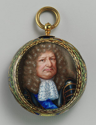 Watch with portrait of Friedrick Wilhelm, the Great Elector