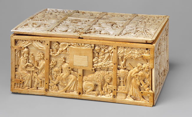 Casket with Scenes from Romances