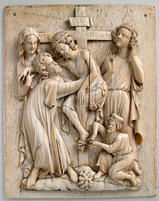 Plaque with the Descent from the Cross