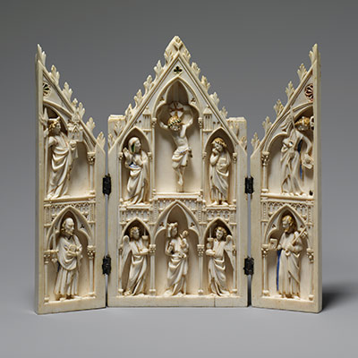 Ivory Carving In The Gothic Era Thirteenth Fifteenth Centuries