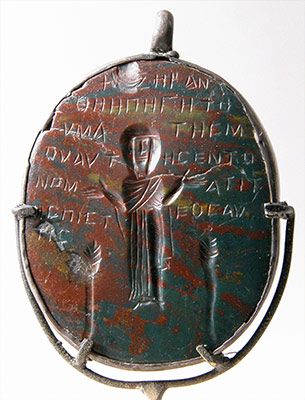 Amulet Carved in Intaglio (Incised)