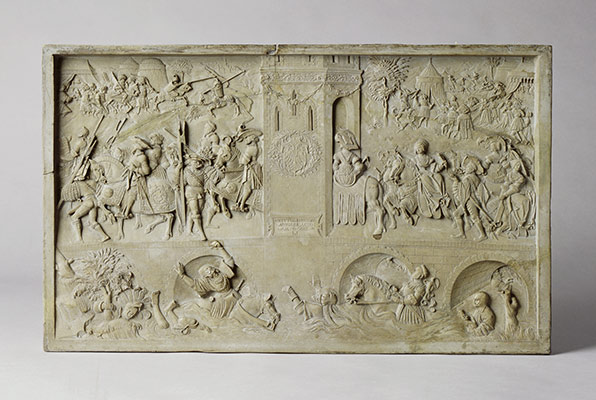 Relief Allegory of Virtues and Vices at the Court of Emperor Charles V