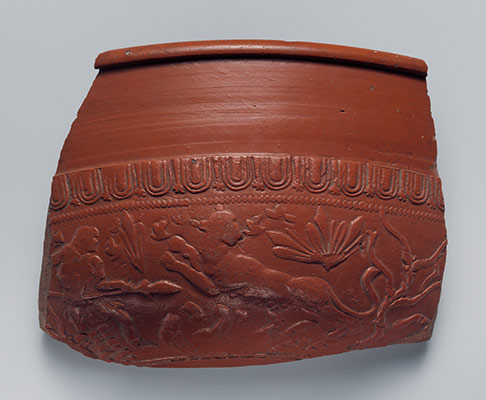 Terracotta bowl fragment
