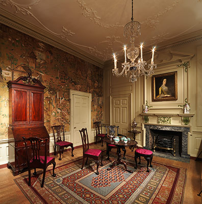 American Georgian Interiors Mid Eighteenth Century Period