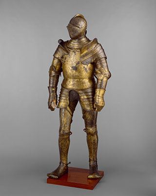 Armor Garniture, Probably of King Henry VIII of England (reigned 1509–47)