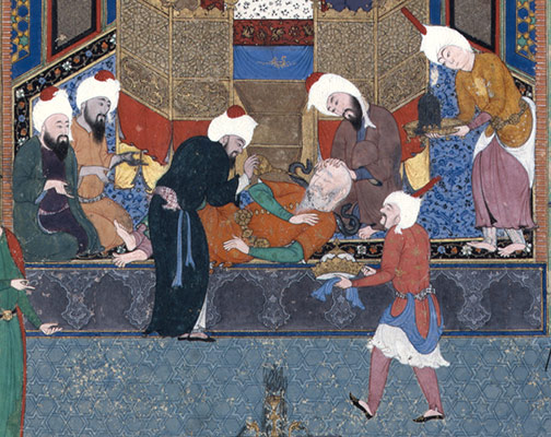 Zahhak is Told His Fate, Folio 29v from the Shahnama (Book of Kings) of Shah Tahmasp