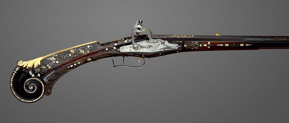 Flintlock Gun of Louis XIII (1601–1643), King of France