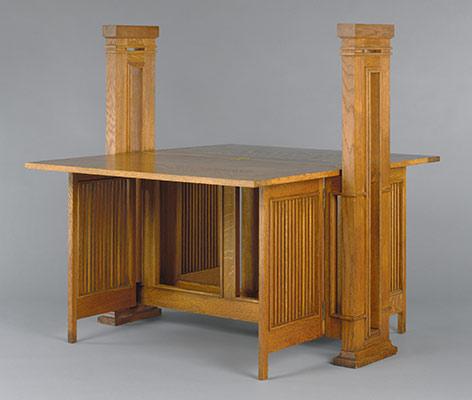 Print Table Frank Lloyd Wright 1972 60 8a B Work Of