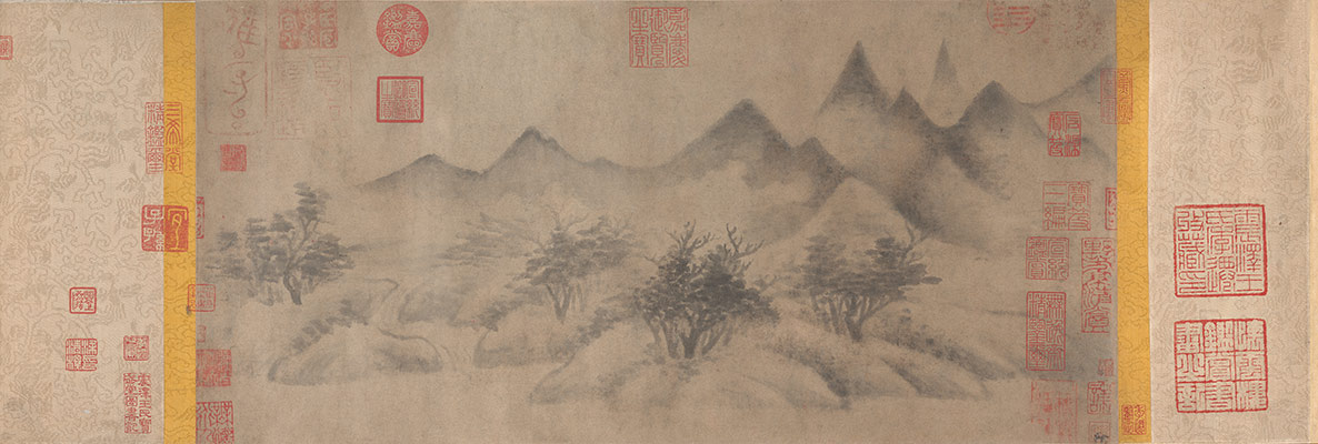 landscape painting in chinese art essay heilbrunn timeline of  cloudy mountains