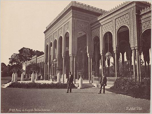 Palais De Gezyret, Pavillon Exterieur