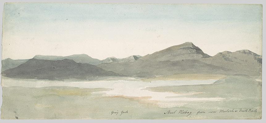 watercolor painting in britain  1750 u20131850