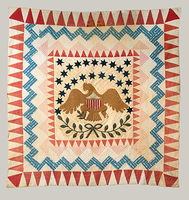 Quilt, Eagle Pattern
