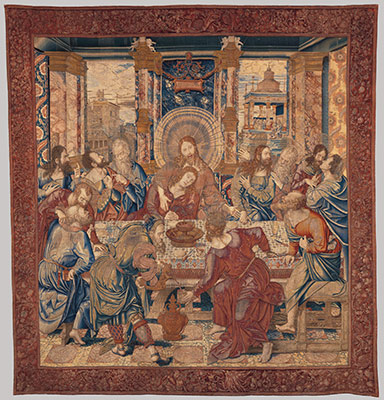 how medieval and renaissance tapestries were made essay  the last supper