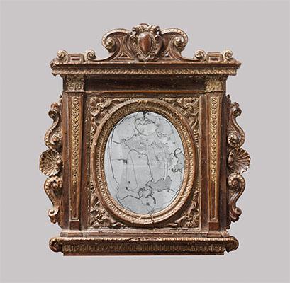 tabernacle mirror frame - Museum Frames