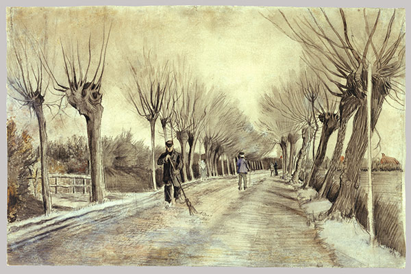 vincent van gogh essay heilbrunn timeline of art  road in etten