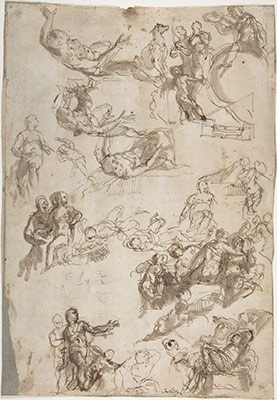 Studies for The Allegories of Love