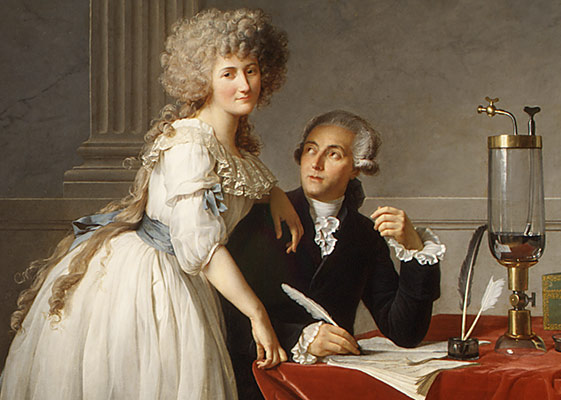 Antoine Laurent Lavoisier (1743–1794) and His Wife (Marie Anne Pierrette Paulze, 1758–1836)