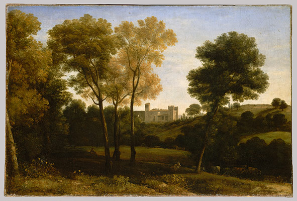 the transformation of landscape painting in essay  view of la crescenza