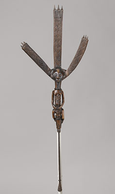 Ceremonial Bowstand: Female Figure