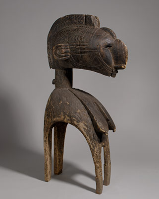 Headdress: Female Bust (Dmba)