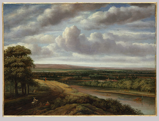 An Extensive Wooded Landscape: Philips Koninck