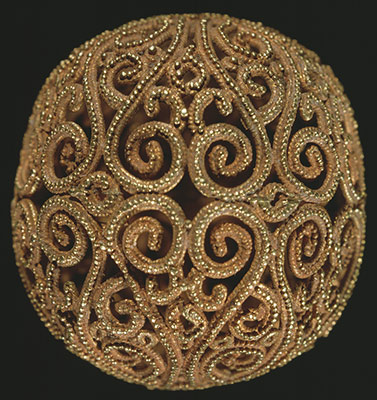Spherical and Biconical Gold Beads