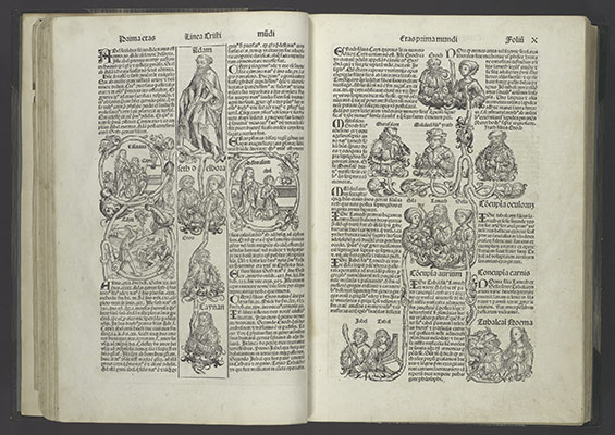 the printed image in the west history and techniques essay   liber chronicarum registrum huius operis libri cronicarum cum figuris et ymagibus ab inicio mundi