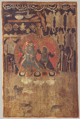 Offerings to the Goddess Palden Lhamo