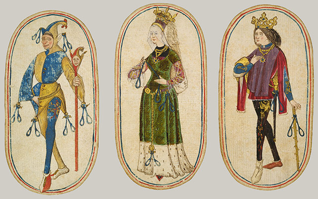 The Cloisters Playing Cards