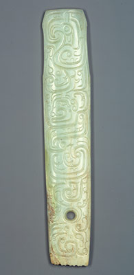 Handle-shaped ornament