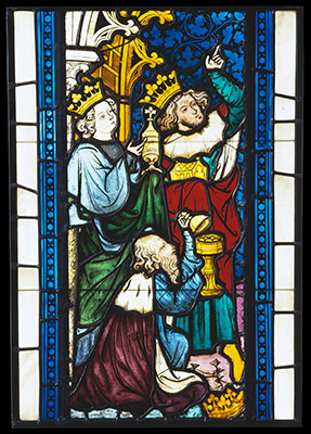 Adoration Of The Magi From Seven Scenes Life Christ