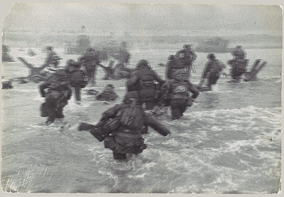 [American Troops Landing on D-Day, Omaha Beach, Normandy Coast]