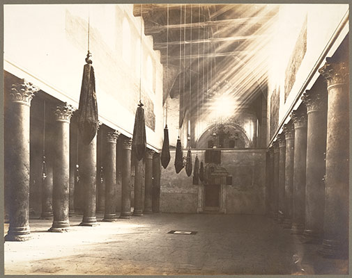 Interior, Church of the Nativity, Bethlehem