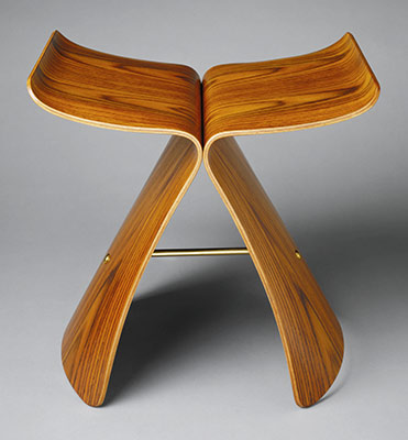 Butterfly stool (model no. T-0521)