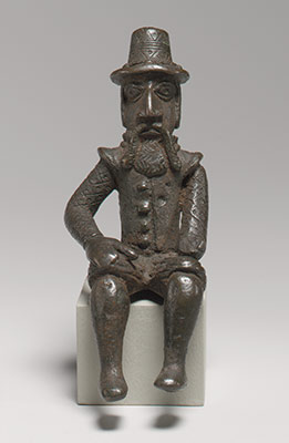 Figure: Seated Portuguese Male