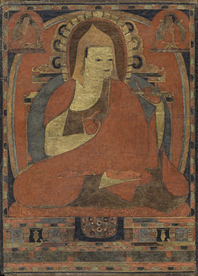 Portrait of the Indian Monk Atisha