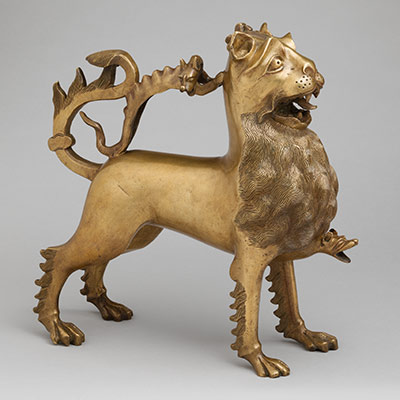 Aquamanile in the Form of a Lion