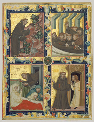 monasteries in the middle ages